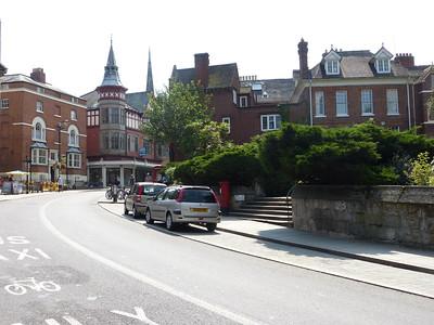 SY1 178 - Shrewsbury, Castle Gates 140723 [location]