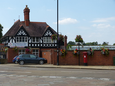 SY1 17 - Shrewsbury, Quarry Gates, Claremont Bank 140723 [location]