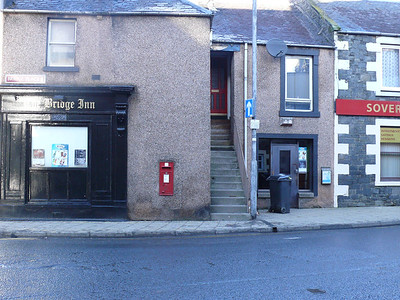 TD1 11 - Galashiels, High Street  Bridge Place 110121 [location]