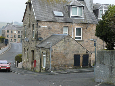 TD9 12 - Hawick, Wellogate Place  Wellogate Brae 110220 [location]