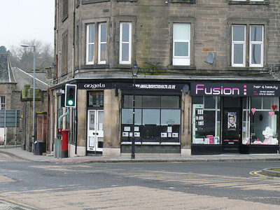 TD9 2 - Hawick, Dovemount Place  Commercial Road 110220 [location]