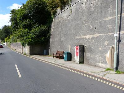 TQ6 156 - Dartmouth, Warfleet Road  Weeke Hill, South Town 140511 [location]