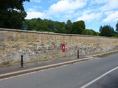 YO13 160 - Hackness [school wall] 120718 [location]