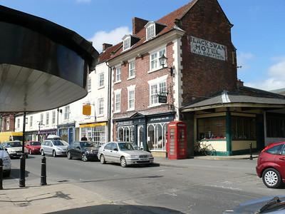 YO17 6 - Malton, Market Place 110428 [location]