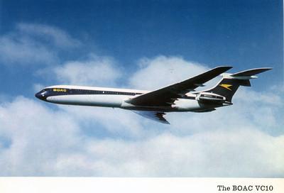 BOAC VC10 1970s