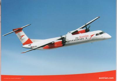 Austrian Bombardier Q400