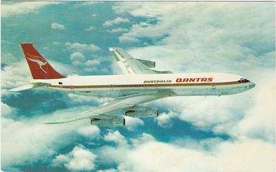 Qantas Airways Being 707