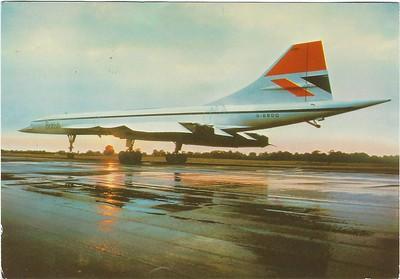Concorde G-BBDG Sep 1983 M&D