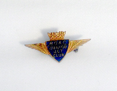 My BOAC Junior Jet Club Badge - 1960s
