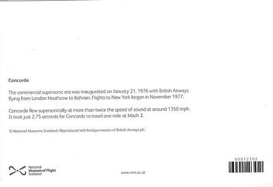 Concorde Greeting Card 2017-001