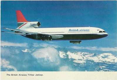 British Airways Tristar 1970s