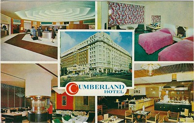 Cumberland Hotel Marble Arch London 1960s