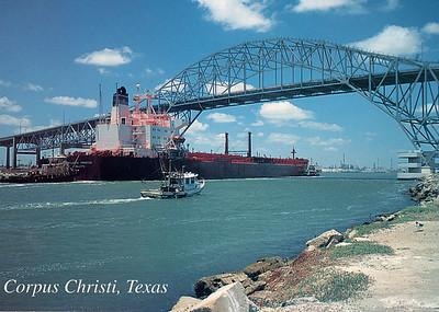 ATLANTIC PRESTIGE Corpus Christi Harbor Bridge Texas