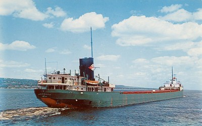 """""""In 1958 the Shenango was sold to Wilson Marine Transit and her name was changed to the A.T. Lawson"""""""