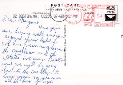 Shell EBALINA Card from 1992-001