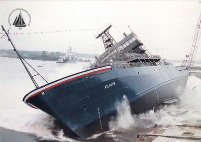 ATLANTIS 1 Feb 1996 WHOI Research Vessel