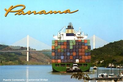 Panama Canal Centennial Bridge CSCL vessel-001