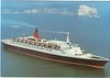QUEEN ELIZABETH 2 Cunard The Needles IOW