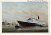 QE2 Mersey painting ED Walker Liverpool