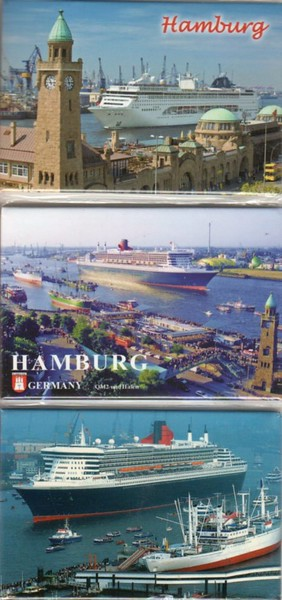 Hamburg Magnets MSC OPERA QM2 CAP SAN DIEGO 2014