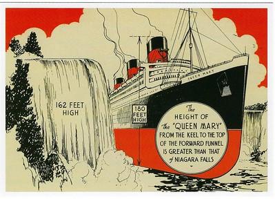 QUEEN MARY Niagara Falls Comparison
