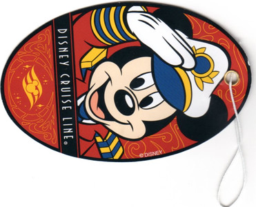 DISNEY MAGIC 2013 Luggage Tag