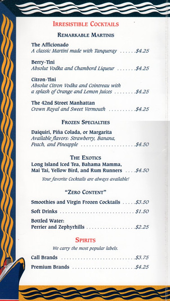 Disney Bar Menu 2013-001