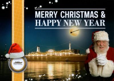 Happy Christmas HNY ss ROTTERDAM