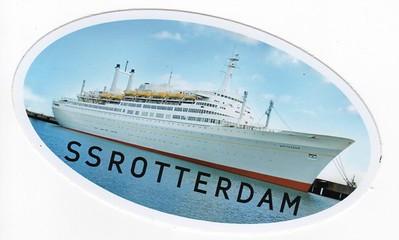 ROTTERDAM 1959 Sticker