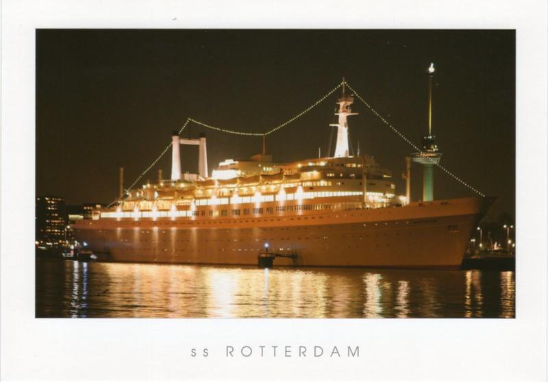 ROTTERDAM 1959 Night Rotterdam from 2014-001