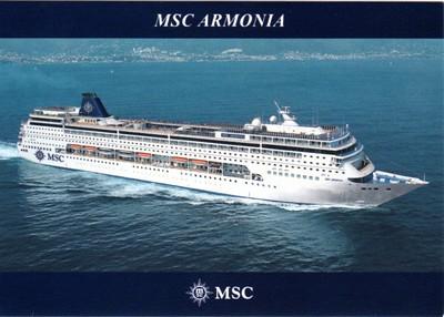 MSC ARMONIA 2013