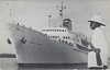 ss NEW BAHAMA STAR Eastern Steamship Lines 1957 JERUSALEM Zim-001