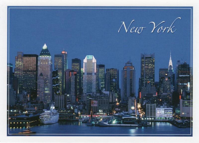 NORWEGIAN STAR 1973 Night New York