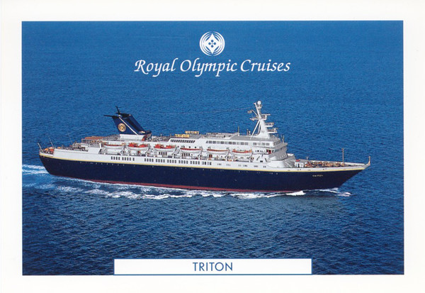 TRITON Royal Olympic Cruises CORAL ex CUNARD ADVENTURER