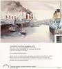LEVIATHAN AQUITANIA OLYMPIC Southampton c1920 Christmas Card