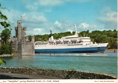INNISFALLEN B&I Line Blackrock Castle Cork to be IONIAN SUN