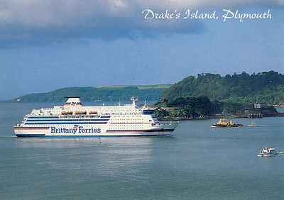 VAL DE LOIRE Brittany Ferries Drake's Island Plymouth