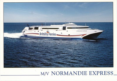 NORMANDIE EXPRESS Brittany Ferries
