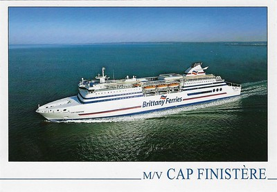CAP FINISTERE Brittany Ferries ex SUPERFAST V