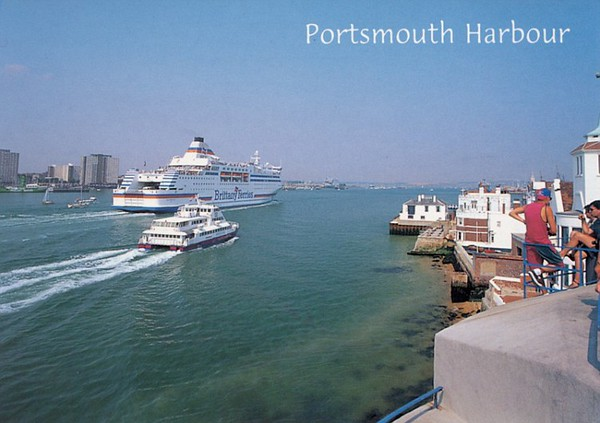 NORMANDIE OUR LADY PAMELA or PATRICIA Portsmouth Harbour