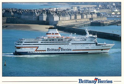 BRETAGNE St Malo Brittany Ferries