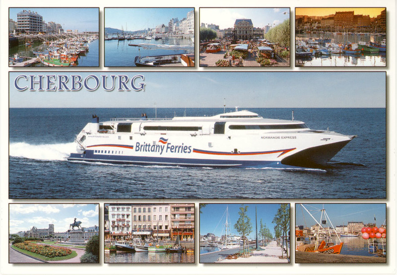 NORMANDIE EXPRESS Cherbourg from 2009