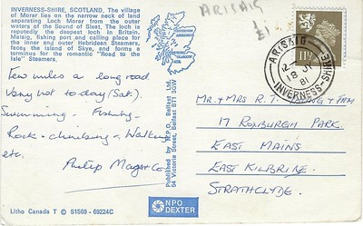 Calmac COLUMBA or HEBRIDES Morer Molaig Invernessshire from 1981-001