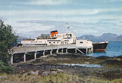 CLANSMAN 1964 Armadale Pier Skye