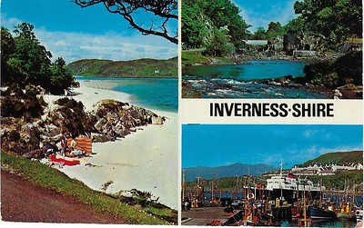 Calmac COLUMBA or HEBRIDES Morer Molaig Invernessshire from 1981