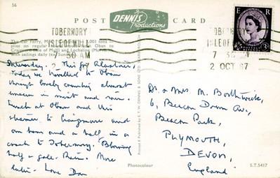 COLUMBA 1964 Calmac to HEBRIDEAN PRINCESS-001