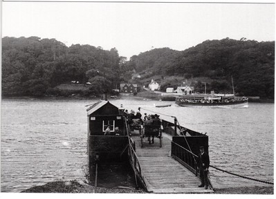 The King Harry Ferry c1890 Queen of the Fal 004