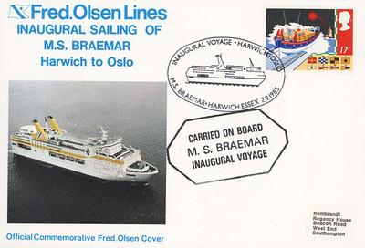 Ferry BRAEMAR of 1985