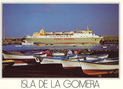 Ferry Benchijigua La Gomera