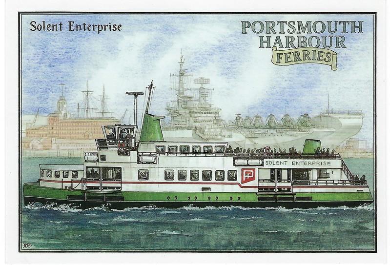 SOLENT ENTERPRISE Gosport Ferries then SUNDANCE